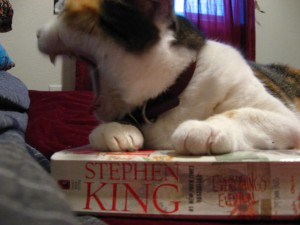 hairball hacking will continue until your reading material improves!